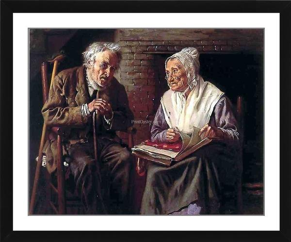 Результат изображения для (Джон Джордж Браун - «Старые воспоминания»).