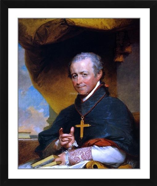 PrintOyster | Bishop Jean-Louis Anne Magdelaine Lefebvre de