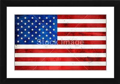 american flag watermark paper